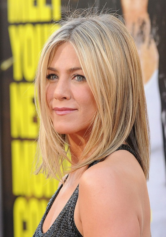 Jennifer Aniston Lob Long Bob Hairstyle