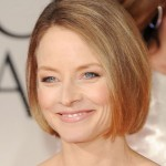 Jodie Foster Chin-length Bob