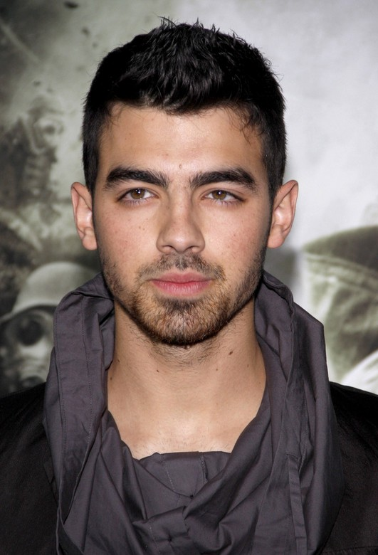 Joe Jonas Spiked Short Haircut for Men