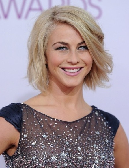Julianne Hough Bob Hairstyle 2014