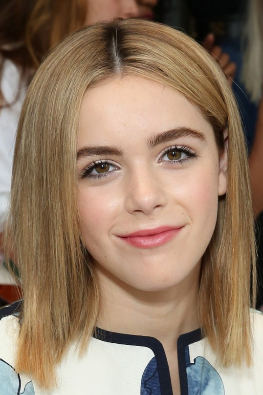 Kiernan Shipka Medium Straight Hairstyle