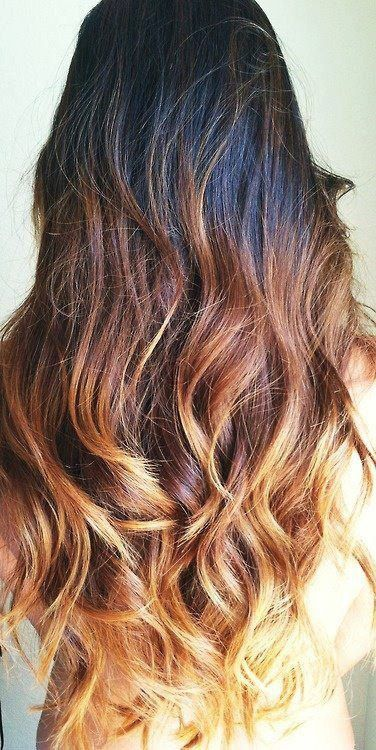 Latest Trendy Ombre Hairstyle for women