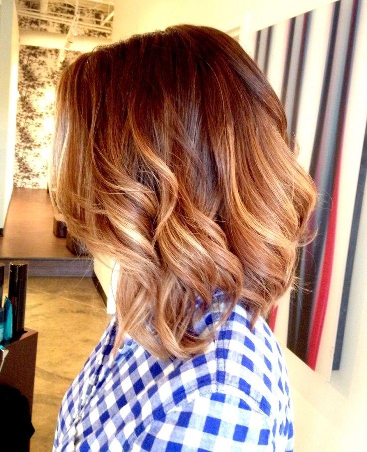 Wavy Medium Length Long Layers Haircut 79