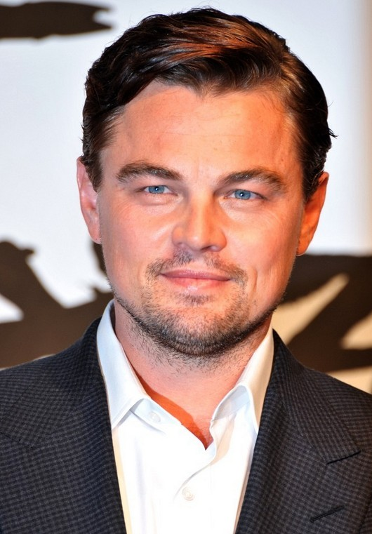 Leonardo DiCaprio Short Side Part Hairstyle for Men