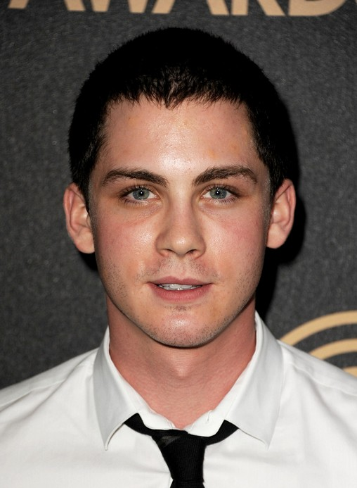Logan Lerman Short Buzzcut for Guys