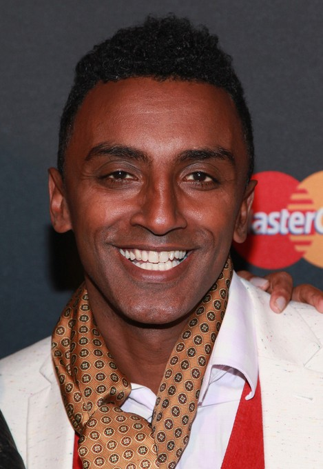 Marcus Samuelsson Hightop Fade Haircut for Men