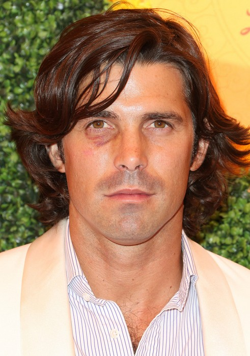 Nacho Figueras Layered Wavy Hairstyle for Men