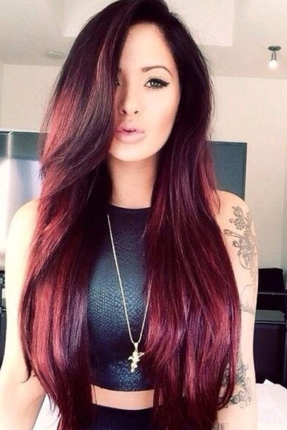 Red Hair Color Trends 2015