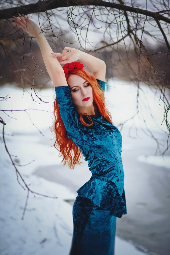Red Hair for Winter