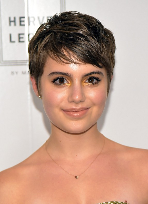 Sami Gayle Layered Short Pixie Cut