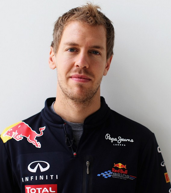 Sebastian Vettel Short Spiky Curly Haircut for Men