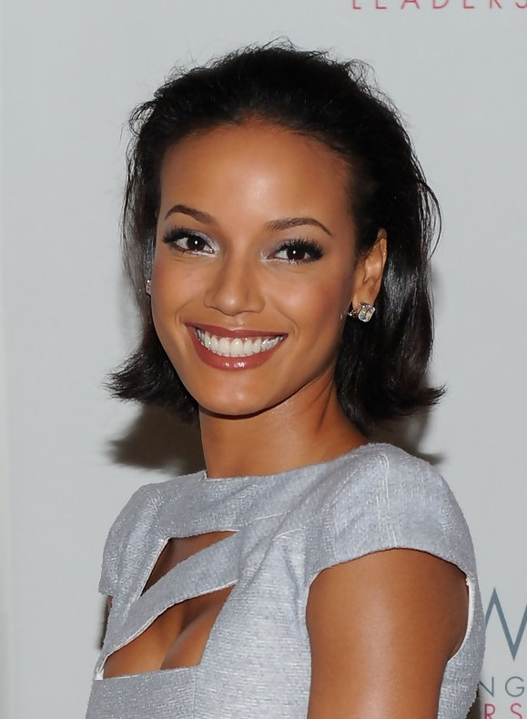Selita Ebanks Simple Easy Short Daily Hairstyle For Black