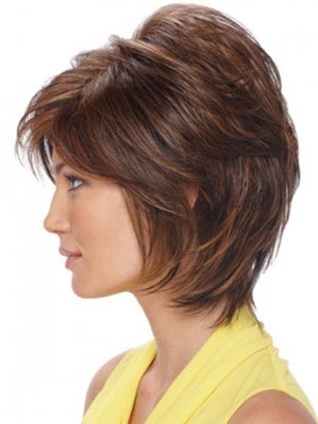 Shag Bob Haircut for Women Over 40