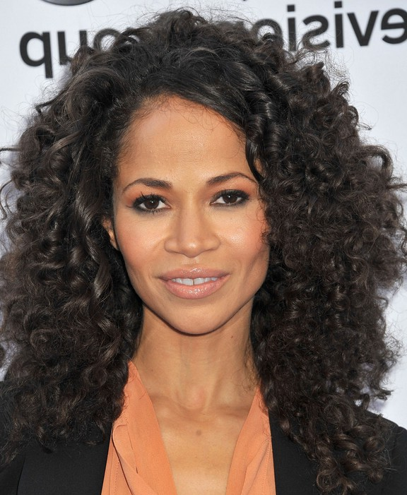 Sherri Saum Naturally Curly Hairstyle for Long Hair
