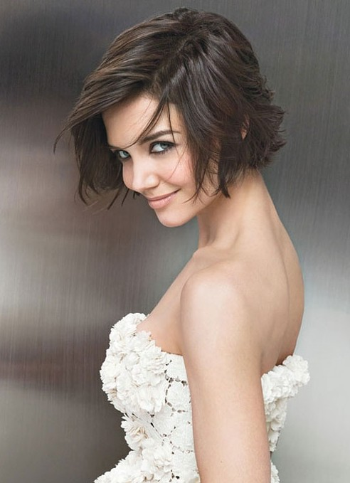 Short Bob Hairstyle For Wedding