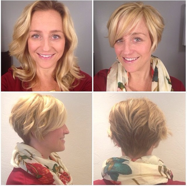 Short Wavy Curly Bob Hairstyle