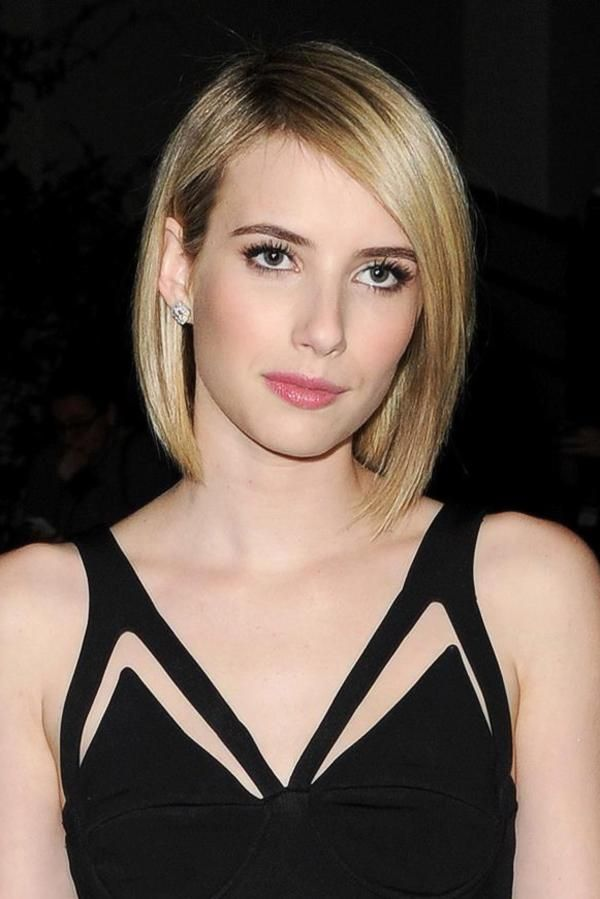 Sleek And Straight Graduated Bob Haircuts