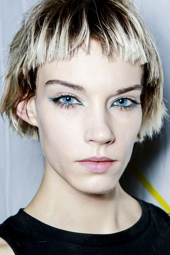 Trendy Short Haircut with super-cropped fringe for 2015