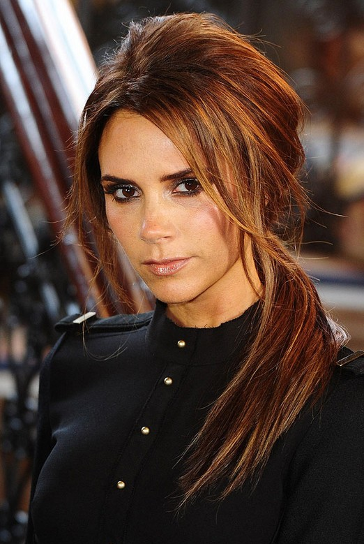 Victoria Beckham Side Ponytail