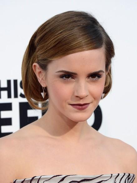 Emma Watson Short Bob Hairstyles