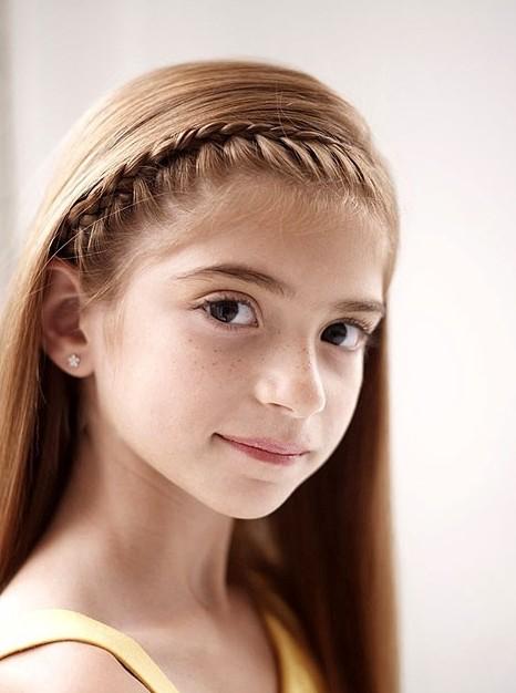 French Braid Headband for Girls