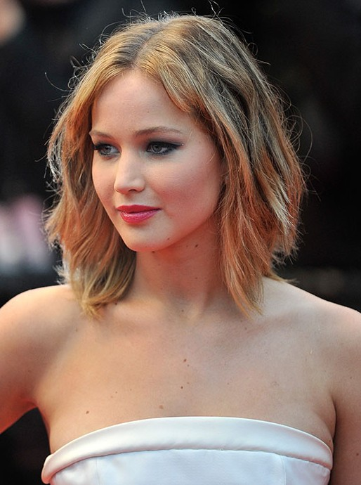 Short Layered Hairstyle For Women Jennifer Lawrence