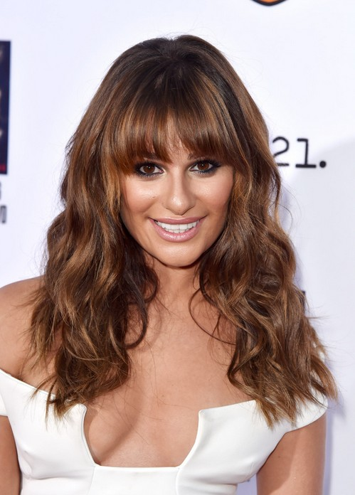 ... Long Hairstyle with Full Bangs  Hairstyle for Thick Coarse Hair