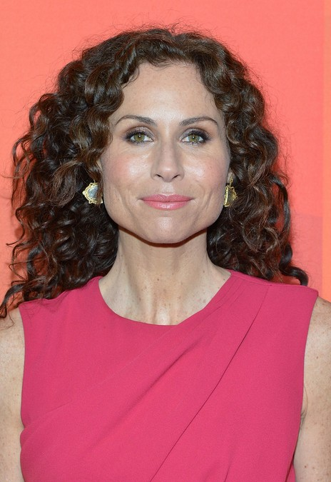 Minnie Driver Hairstyle for Thick Curly Hair