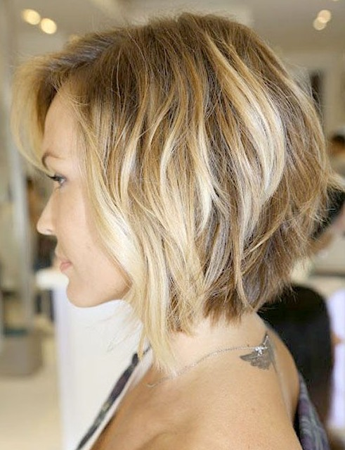 Picture of inverted bob with loose waves /pinterest @ hairstylesweekly ...