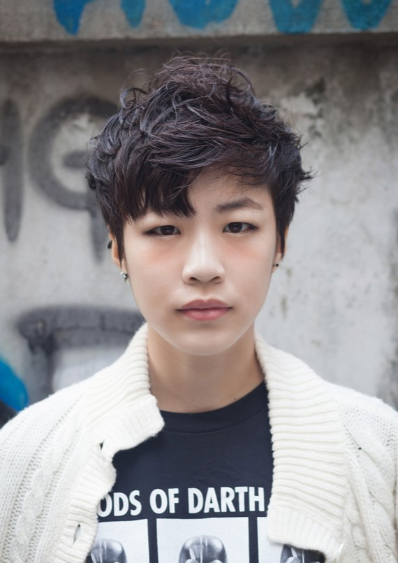 2015 Messy Haircuts for Asian Men