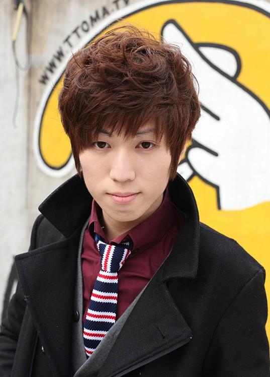 Cute Korean Guys hairstyle