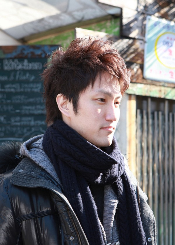 Guys Handsome Hairstyle for Winter