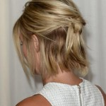 Back View of Julianne Hough Bob