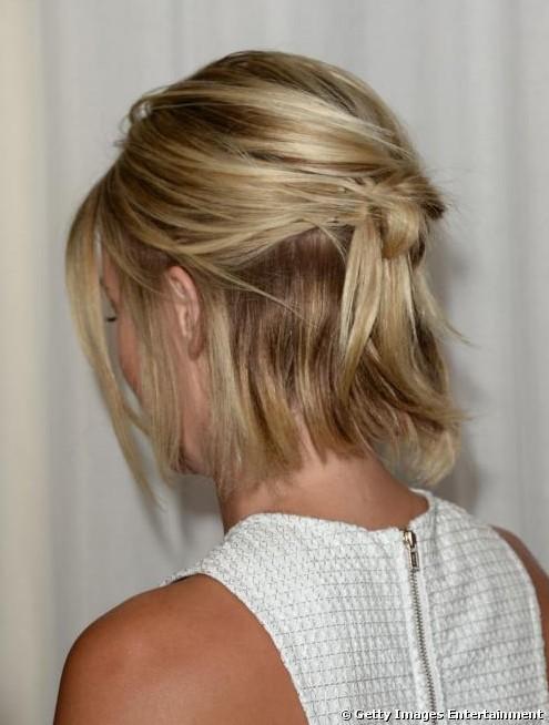 Pleasant Back View Of Julianne Hough39S Bob Cut Hairstyles Weekly Hairstyles For Women Draintrainus
