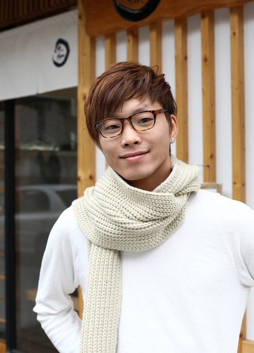 Korean Male hairstyles for winter