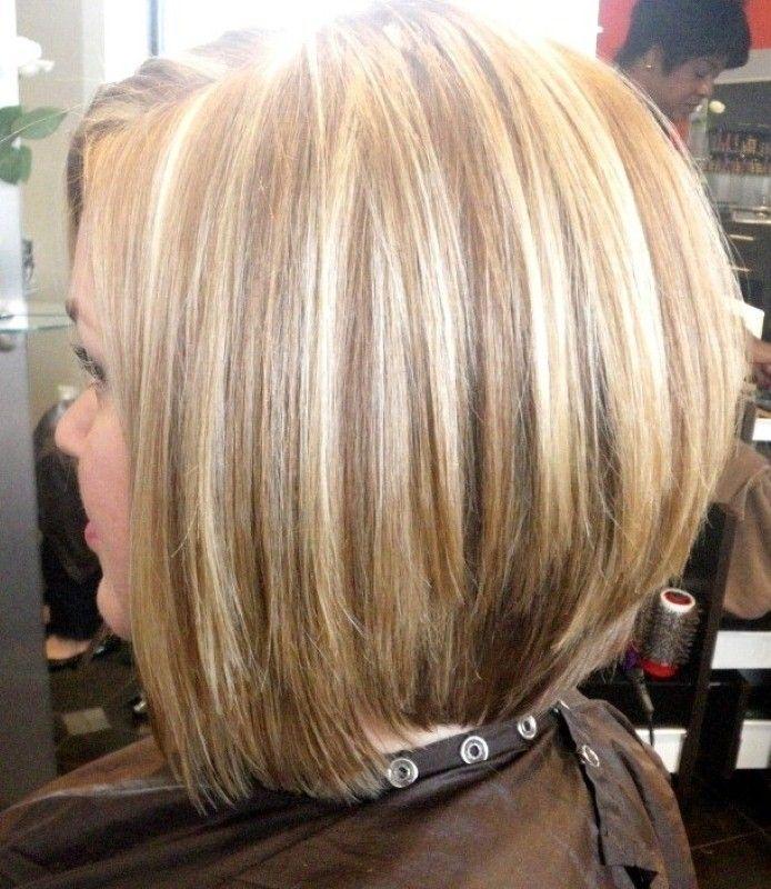 Layered A-line Bob Haircut for Women