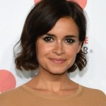 Miroslava Duma short wavy bob hairstyles for women