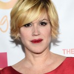 Molly Ringwald Short Layered Razor Haircut 2015
