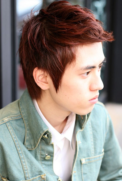 Trendy Korean Haircut for Men