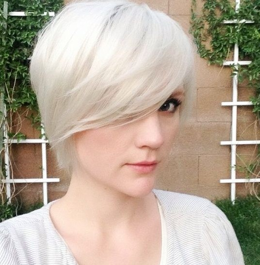 30 Short Hairstyles for Women: Long Pixie Cut