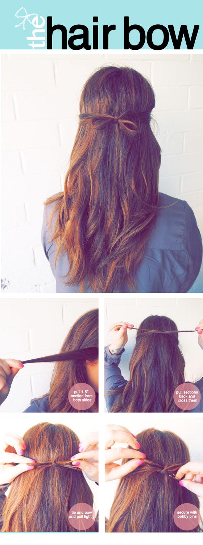 The Tidy Hair Bow