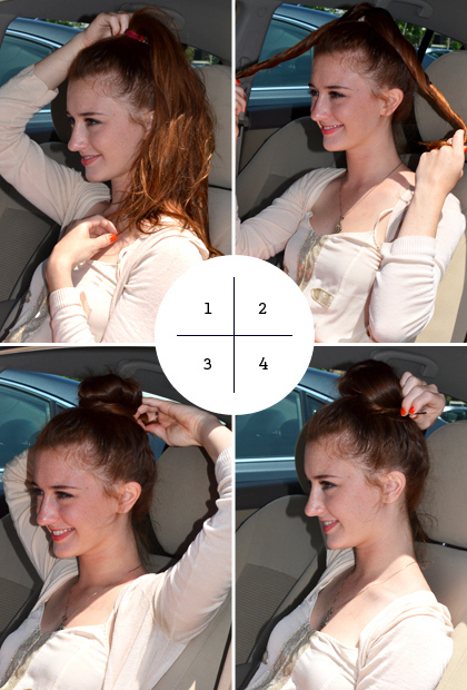 The Four-Step Bun