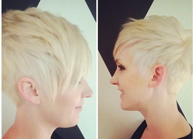 Match Your Punky Personality With A Platinum Punk Pixie Hairstyles Weekly