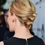 Back View of Elizabeth Banks Hair Knots