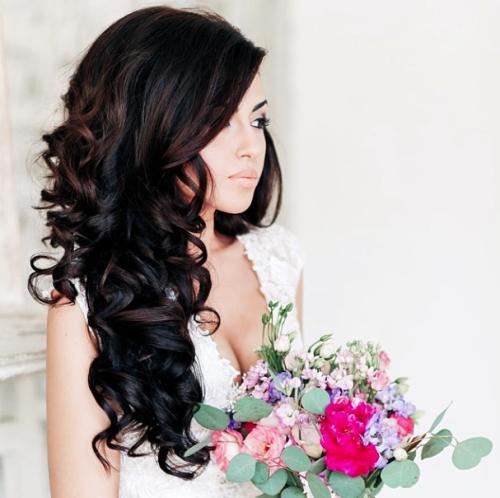 popular romantic wedding hairstyles