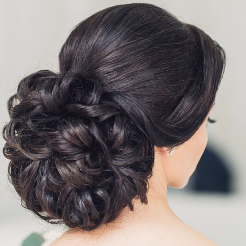 Straight Wedding Hairstyles: 30 Classic Wedding Hairstyles & Updos