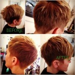 Boy cut for women