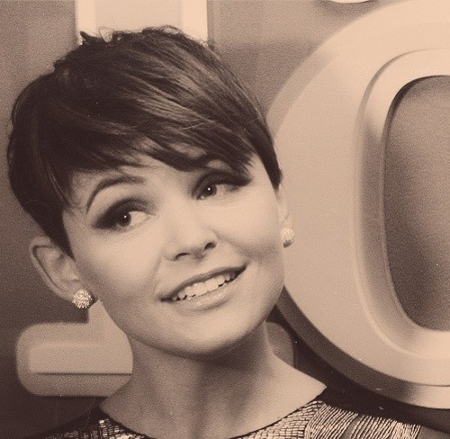 Celebrity pixie cut from Ginnifer Goodwin
