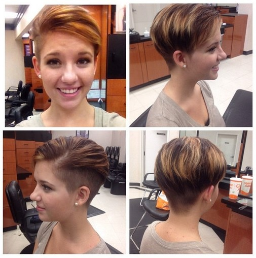 Cool Fashionable Short Haircut For Stylish Young Women - Hairstyles Weekly-7896