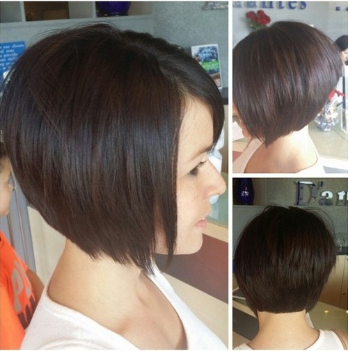 Cute short back to school hairstyle for girls